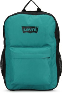 e15e2b085c Levi s Two tone back pack 2 8 L Backpack Black Green Best Price in ...