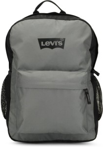 4d6a545c92 Levi s Two tone back pack 2 8 L Backpack Black Grey Best Price in ...