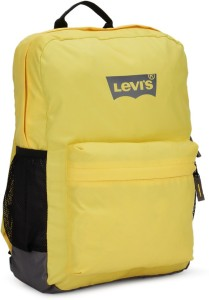 428c548732 Levi s Two tone back pack 2 8 L Backpack Black Yellow Best Price in ...