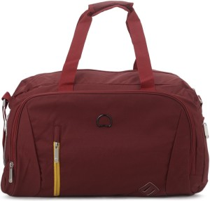 Delsey Gateway Soft 55Cm Red Small Duffel Bag Travel Duffel Bag