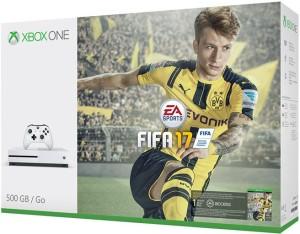 Microsoft Xbox One S 500 GB GB with FIFA 17White