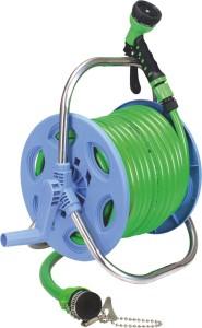 AquaHose Garden Hose Reel Green 30mtr (12.5mm ID) Revolving Type Hose Pipe