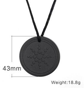 VibeX ® Fashion Quantum Necklace Scalar Energy Neg Ions EMF Protection  Stone Pendant