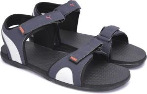 Puma Men Periscope Gray Violet Sports Sandals Best Price in India ... 4ff0151aedbc