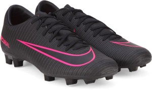 4d2ce2e80 Nike MERCURIAL VICTORY VI FG Football Shoes Black Best Price in ...