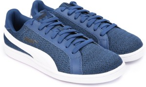 new style 76e05 a9eb4 Puma Smash Knit SneakersBlue