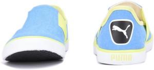 91f10d0eeeef92 Puma Lazy Slip On II DP Sneakers Blue Best Price in India