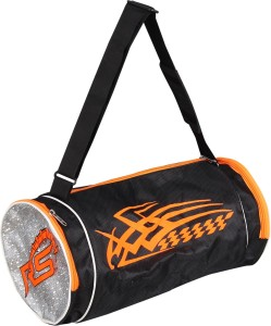 32f38717e85d RS SPORT FITNESS PRO GYM BAG Black Orange Kit Bag Best Price in ...