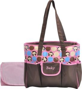 Magic Pitara MULTIPURPOSE MOTHER BAG (PINK) Backpack Diaper Bag