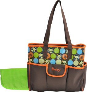 Magic Pitara MULTIPURPOSE MOTHER BAG (ORANGE) Backpack Diaper Bag