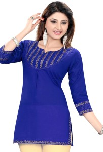 ALC Creations Solid Women's Tunic