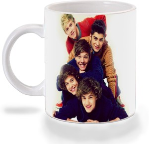 e2af0a284be Mooch Wale One Direction One Above Each Other Ceramic Mug 325 ml ...