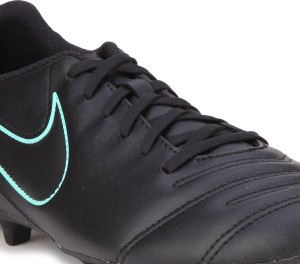 ed4f47e7c61 Nike TIEMPO RIO III FG Football Shoes Black Best Price in India ...