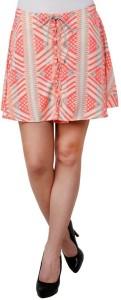 DARZI Printed Women's Regular Multicolor Skirt