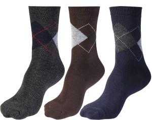 Zenni Men's Solid Quarter Length Socks
