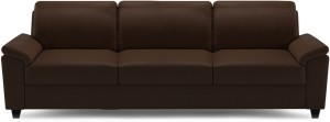 Dolphin Oxford Leatherette 3 Seater Sofa