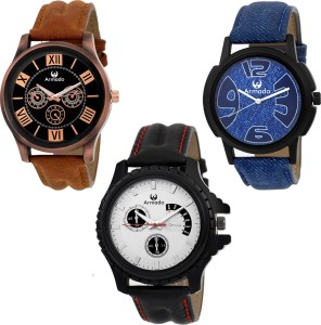Armado AR 115384 Combo Of 3 Elegant Analog Watch For Men Best Price ... df50e971f5