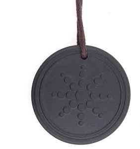 Saizen pel02 quantum science energy black pendant with box card saizen pel02 quantum science energy black pendant with box card metal pendant aloadofball Image collections