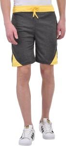 Tej star Solid Men's Multicolor Night Shorts