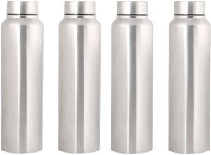 0cb1c1482d Satyaware Steel Chromo Fridge Water Set of 4 1000 ml Bottle Pack of ...