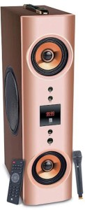 Iball Karaoke Booster Tower Portable Bluetooth Home Audio Speaker