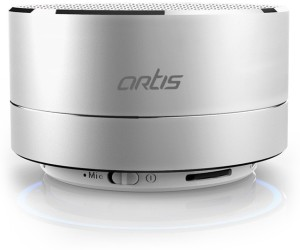 Artis Artis BT14 Wireless Portable Bluetooth Speaker with FM / TF Card Reader / Mic. / Led Light Portable Bluetooth Mobile/Tablet Speaker