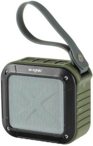 HiTechCart WKing S71 Waterproof with 10 Hour Rechargeable Battery Life Portable Bluetooth Mobile/Tablet Speaker