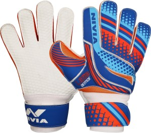 Nivia Ultra Armour Goalkeeping Gloves (S, Multicolor)