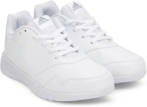 04493aaed10 Adidas Boys   Girls Lace Running Shoes ( White )