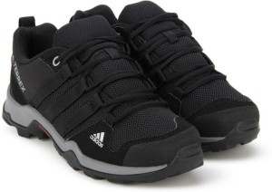 12a9b134d1a Adidas Boys Girls Lace Running Shoes Black Best Price in India ...