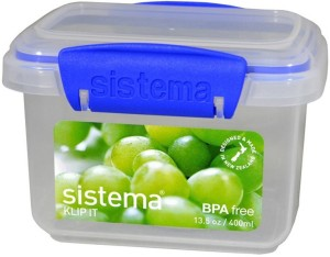 Sistema Rectangular Klip It 1 Containers Lunch Box
