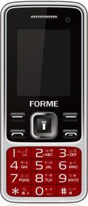 Forme N9+ Selfie Camera ,Wireless FM, Dual SIM (Red) Moile Phone