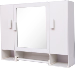 WINACO New Monalisa-1 Bathroom Cabinet Plastic Wall Shelf