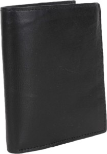 AANIA HAUTE Men Black Genuine Leather Card Holder