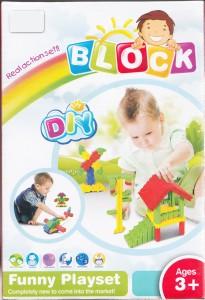 EMOB New Styles DIY 120 Pcs Baby Block Real Action Fun Playset
