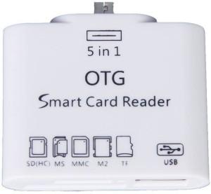 Lionix 5 in 1 OTG USB 2.0 Card Reader