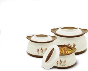 BMS Lifestyle Belleza Insulated Hot Pot Gift Set, 3 Pcs ,With ( 650ML BPA ) Casserole