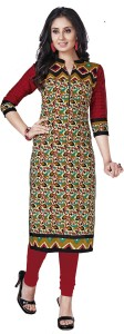 Giftsnfriends Cotton Printed Dress/Top Material