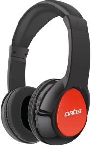 Artis BH200M Bluetooth Headphone with Mic. / FM Radio / Micro SD card Reader (Red) Wireless bluetooth Headphones