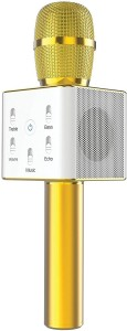 Konarrk Q7 Handheld KTV Wireless Bluetooth Karaoke Singing Mic Speaker Player Microphone