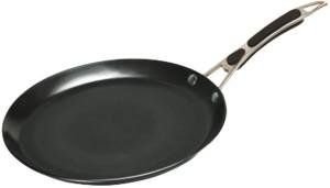 alda Induction Friendly Hard Anodised Crepe Pan Pan 30 cm diameter