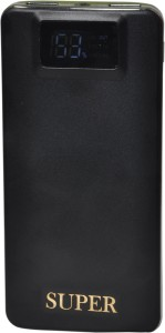 SUPER PING ULTRA SLIM 2 Port With Led & digital Display 12000 mAh Power Bank