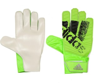 Adidas X Lite Goalkeeping Gloves (L, Solar Green, Black, Copper Met)