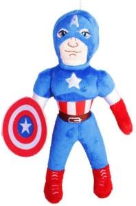 ToyJoy Captain America 30cm Superhero Premium quality Avenger soft plushed stuffed toy  - 30 cm