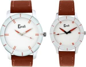 Cavalli CW 181 Couple Combo Analog Watch  - For Men & Women