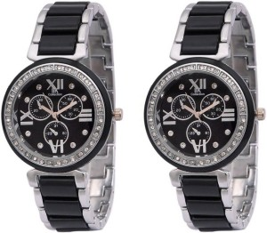 Fashion Gateway Supper Hot Collection (pack of 2) Luxury Analog Watch  - For Women