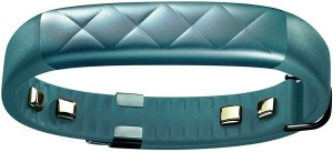 Jawbone UP3 by Heart Rate, Activity + Sleep Tracker, Teal Cross Fitness Band