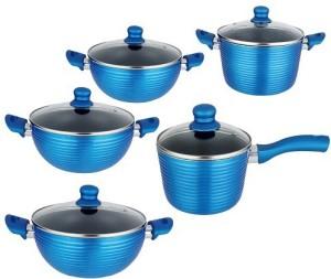 NIRLON Cooking Pots & Pans Set Kadhai, Kadhai, Kadhai, Pot, Pan Set
