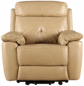 HomeTown Half-leather Manual Recliners