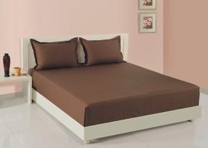 Swayam Cotton Plain King Sized Double Bedsheet
